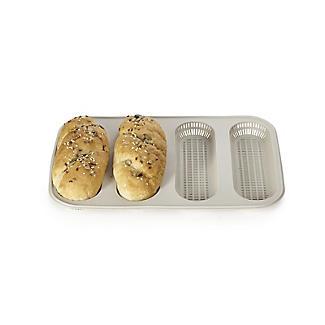 Silikomart 4-Hole Silicone Mini Baguette Bread Mould alt image 7