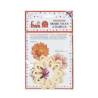 Easy Dahlia, Chrysanthemum and Water Lily Icing Cutters – Set of 3 alt image 3