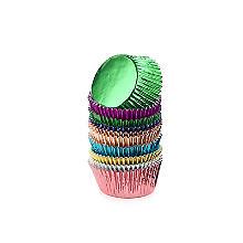 120 Foil Cupcake Cases – 8 Colours