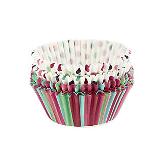 Let's Party Spots and Stripes Greaseproof Cupcake Cases 80 Pack alt image 2