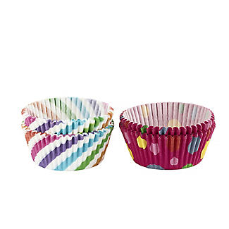 Swirls and Spots Greaseproof Cupcake Cases 80 Pack alt image 2