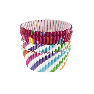 Swirls and Spots Greaseproof Cupcake Cases 80 Pack alt image 3