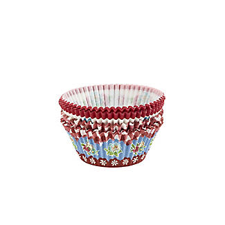 80 Floral and Gingham Greaseproof Cupcake Cases alt image 3