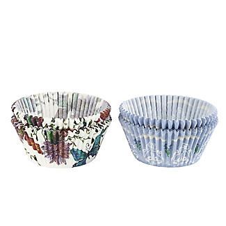 Butterfly and Lavender Greaseproof Cupcake Cases 80 Pack alt image 2