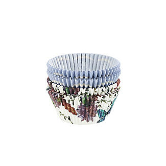 Butterfly and Lavender Greaseproof Cupcake Cases 80 Pack alt image 3