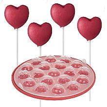 3 Shape Silicone Cake Pop Mould