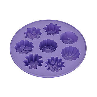 Silicone 8 Shapes Flower Cake Mould alt image 4