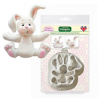 Katy Sue Designs Sugar Buttons Rabbit Silicone Mould