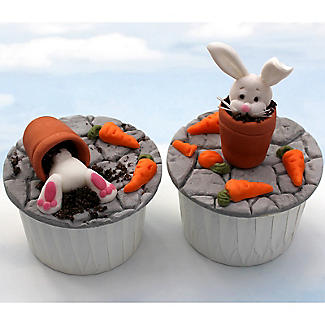 Katy Sue Designs Sugar Buttons Rabbit Silicone Mould alt image 3