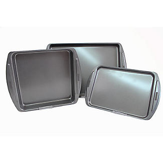 Lakeland 3-Piece Oven Tray Bakeware Set