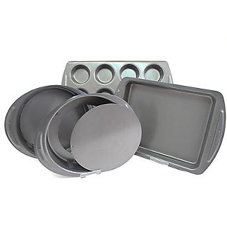 Lakeland 4-Piece Cake and Brownie Tin Set  alt image 1