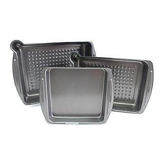 Lakeland 3-Piece Roasting Ovenware Set