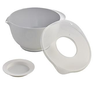 Rosti Mepal Mixing Bowl with Anti Splash Lid 3L