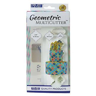PME Geometric Multicutters Moroccan Lantern – Set of 3 alt image 6