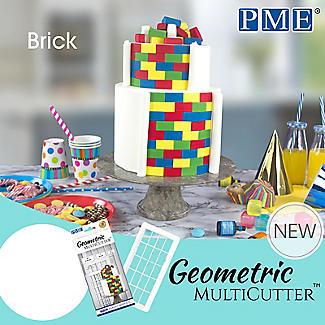 PME Geometric Multicutters Brick – Set of 3 alt image 3