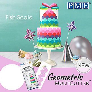 PME Geometric Multicutters Fish Scale – Set of 3 alt image 4
