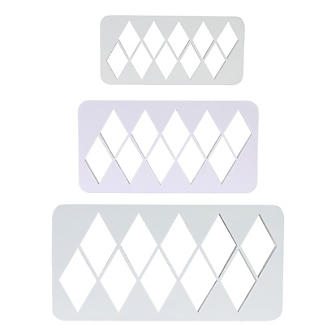 PME Geometric Multicutters Diamond – Set of 3 alt image 3