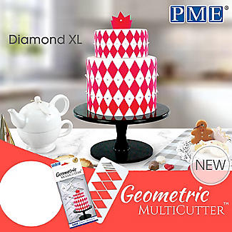 PME Geometric Multicutters Diamond – Set of 3 alt image 4
