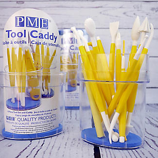 PME 14-Piece Icing Tool Set with Caddy alt image 2