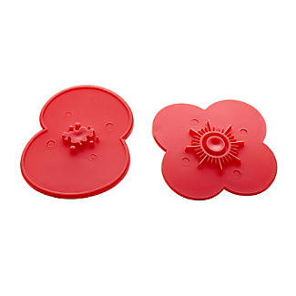 2 Poppy Cookie Cutters with Press Insert and RBL Charity Donation alt image 5