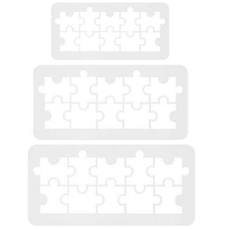 PME Geometric Multicutters Jigsaw Puzzle – Set of 3 alt image 4