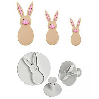 3 PME Rabbit Plunger Cutters