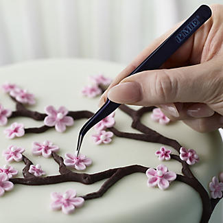 PME Sugarcraft Angled Tweezers for Cake Decorating alt image 2