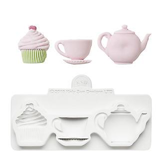 Katy Sue Designs Afternoon Tea Flexible Silicone Mould