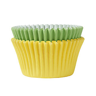 72 Bright Yellow and Green Cupcake Cases alt image 2