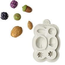 Katy Sue Designs Nuts and Berries Silicone Mould