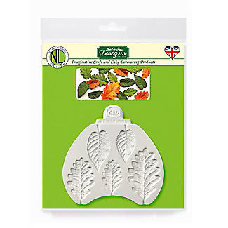 Katy Sue Designs Blackberry and Oak Leaves Silicone Mould alt image 3