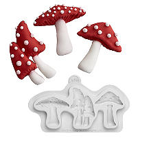 Silicone Toadstool Mould