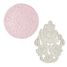 Katy Sue Designs Creative Cake Silicone Mould Embosser – Roses