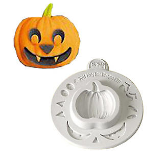 Katy Sue Designs Pumpkin Face Halloween Silicone Mould