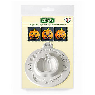 Katy Sue Designs Pumpkin Face Halloween Silicone Mould alt image 4