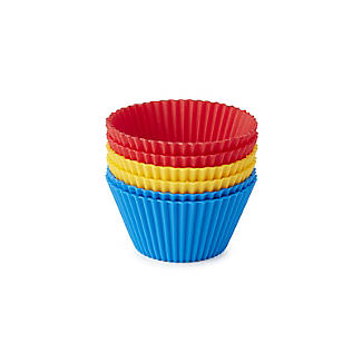 Silicone Cupcake Cases – Pack of 6