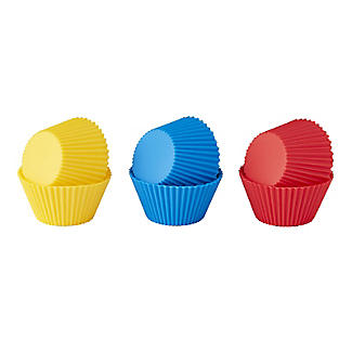 Silicone Cupcake Cases – Pack of 6 alt image 3