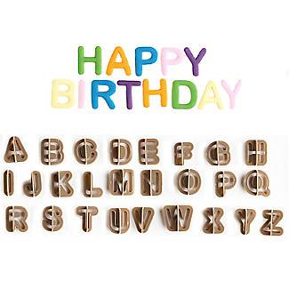 Alphabet Cutters A to Z