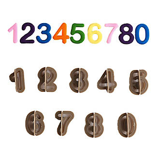 Number Cutters 0 to 9