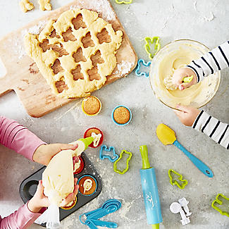 Kids' Real Cookware Ultimate 48-Piece Baking Gift Set alt image 2