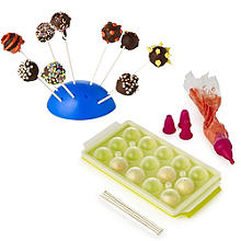 Lakeland Cake Pop Silicone Mould and Accessories Set