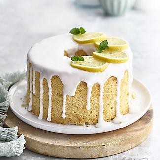 18cm Lakeland Silver Anodised Aluminium Angel Food Cake Tin alt image 2