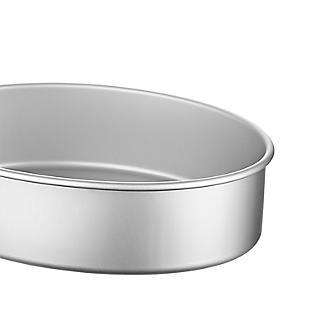 Lakeland Silver Anodised Aluminium Small Oval Cake Tin – 20.5 x 15cm alt image 3