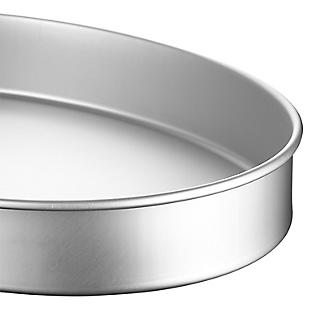 Lakeland Silver Anodised Aluminium Large Oval Cake Tin – 35.5 x 26.5cm alt image 3