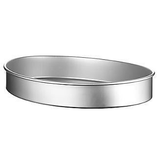 Lakeland Silver Anodised Aluminium Large Oval Cake Tin – 35.5 x 26.5cm alt image 5
