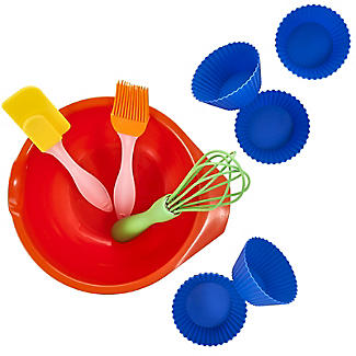 Children's 10pc Baking Gift Set with Bowl, Whisk and Spatula  alt image 3