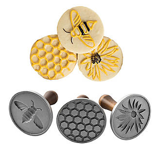 Honey Bee Cookie Press Set