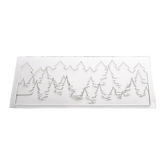 Pine Trees Skyline Chocolate Mould 27 x 13cm alt image 5