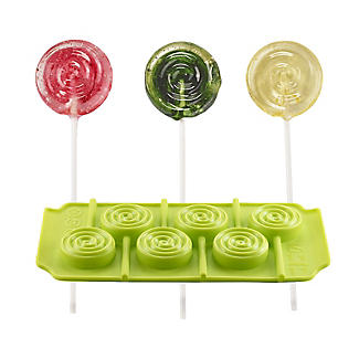 6-Hole Silicone Whirly Lolly Pop Mould