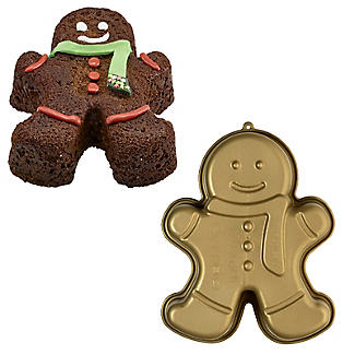 Gingerbread Man Silicone Cake Mould